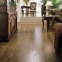Merbau laminate flooring / floating