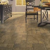 Stone laminate flooring / floating