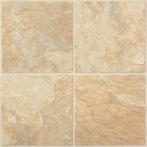 PVC floor tile / stone look