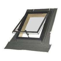 Projection roof window / aluminum / double-glazed