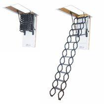 Accordion protection ladder / metal