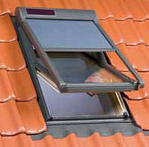 Roller shutters / metal / for roof windows / electric