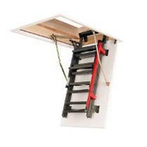 Retractable ladder / metal