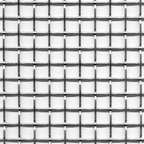 Building metal mesh / cladding / stainless steel / elongated mesh