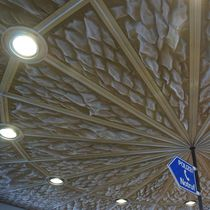 Stainless steel suspended ceiling / wire mesh / panel / wire