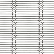 Interior fitting metal mesh / for facades / for curtain walls / cladding