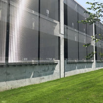 Wire mesh cladding / stainless steel mesh / textured / mesh