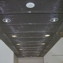 Wire mesh suspended ceiling / panel