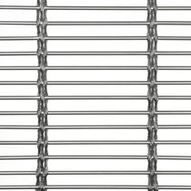 Wire interior fitting mesh / cladding / stainless steel / elongated mesh