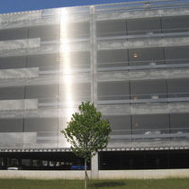 Stainless steel cladding / stainless steel mesh / textured / mesh