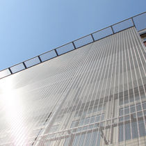 Stainless steel cladding / textured / mesh / metal look