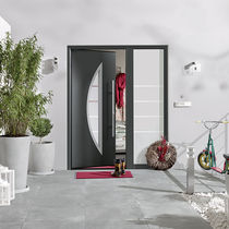 Entry door / swing / steel / thermally-insulated