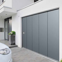 Sliding sectional garage doors / galvanized steel / automatic / insulated