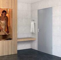Indoor door / swing / galvanized steel / acoustic