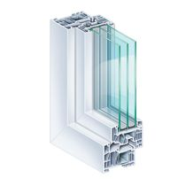 Aluminum window profile / steel / PVC / thermally-insulated
