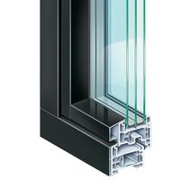 Aluminum window profile / PVC / thermally-insulated