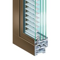 Aluminum window profile / PVC / thermally-insulated / acoustic