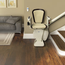 Indoor chair stair lift / power-operated / rotating