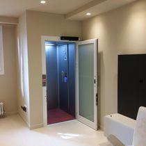 Electric elevator / home / panoramic / machine room-less
