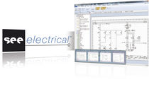 2D/3D CAD software for electrical installation SEE ELECTRICAL V7R1 IGE XAO
