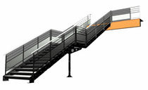 2D/3D CAD software: stairs  BOCAD SERVICE INTERNATIONAL