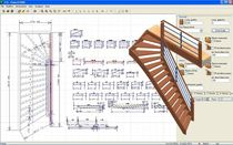 2D/3D CAD software: stairs POWER STAIRS DDX Technologic Solutions Espagna
