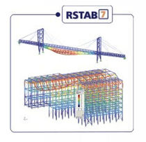 2D/3D civil engineering CAD software RSTAB 7 XX DLUBAL GMBH ING- SOFTWARE