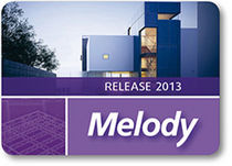 2D/3D computer-aided engineering software CAE: steel structures MELODY 2013 GRAITEC