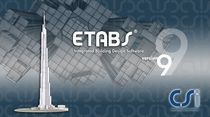 2D/3D computer-aided engineering software CAE: concrete structures ETABS V9.5 COMPUTERS AND STRUCTURES