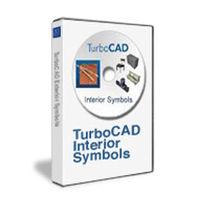 2D/3D object library TURBOCAD 3D INTERIOR SYMBOLS PACK IMSI Design