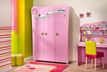 3 door kids wardrobe (girls) CUPCAKE  Cilek AS