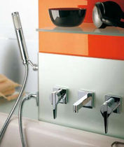 3 hole bath-tub single handle mixer tap A2X243K Neve rubinetterie