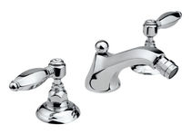 3 hole bidet double handle mixer tap 1815**30 NICOLAZZI