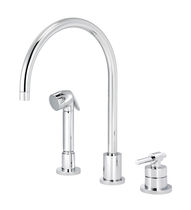 3 hole kitchen single handle mixer tap DYNAMIC CLASSIC 4527.11.28 rvb