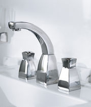 3 hole washbasin double handle mixer tap SQUARE Villeroy & Boch