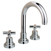 3 hole washbasin double handle mixer tap 2208**27 NICOLAZZI