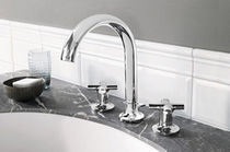 3 hole washbasin double handle mixer tap LAFLEUR CLASSIQUE Villeroy &amp; Boch