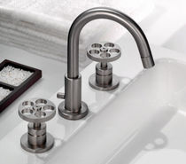 3 hole washbasin double handle mixer tap CENTURY  OTTONE MELODA