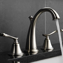 3 hole washbasin double handle mixer tap PROVIDENCE BELLE Brizo