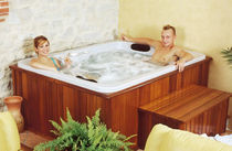 3 seater built-in hot-tub EGEA  SOMETHY