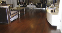 Engineered parquet flooring / floating / glued / birch