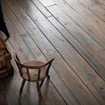 Solid parquet flooring / nailed / glued / birch