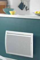 Electric radiator / metal / contemporary / radiant panel