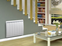 Electrical radiator / horizontal / cast iron / wall-mounted