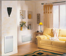 Electrical convector / rectangular / metal / wall-mounted