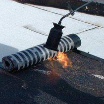 SBS asphalt waterproofing membrane / polyester / for parking lots / roll
