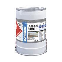 Liquid waterproofing membrane / flat roof / resin / polyurethane