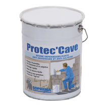 Acrylic resin waterproofing membrane / for walls / for foundations / for basements