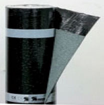 Elastomer waterproofing membrane / SBS asphalt / polyester / for roofs
