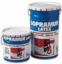 Asphalt waterproofing membrane / resin / latex / for walls